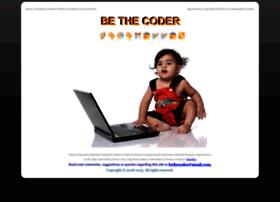 bethecoder.com