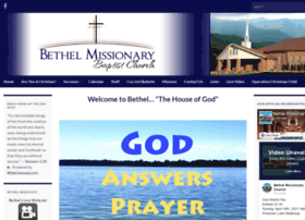 bethelmissionarybaptistchurch.org