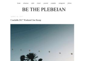 betheplebeian.com