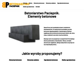 betoniarstwopaciepnik.pl