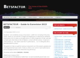 betsfactor.com