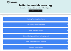 better-internet-bureau.org