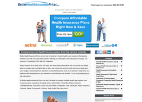 betterhealthinsuranceprices.com
