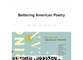 betteringamericanpoetry.com