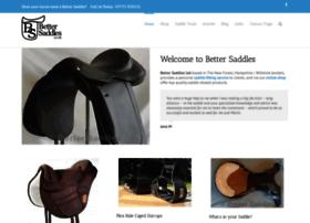 bettersaddles.co.uk