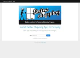 bettershipping.herokuapp.com
