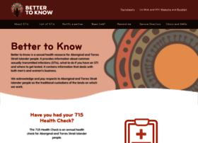 bettertoknow.org.au