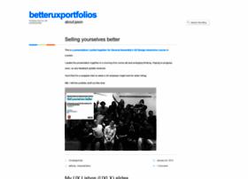 betteruxportfolios.wordpress.com