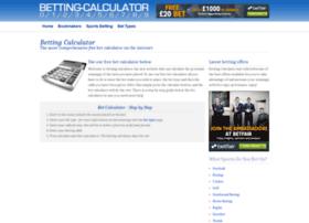 online odds betting calculator