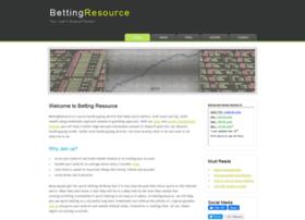 bettingresource.com