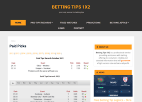 bettingtips1x2.info