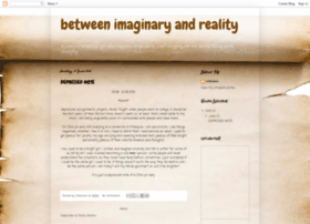 betweenimaginaryreality.blogspot.com