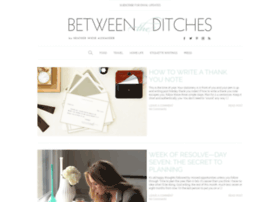 betweentheditches.com