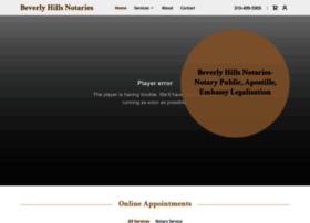 beverlyhillsnotaries.com