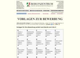 bewerbung-vorlagen.de