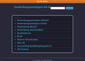 bewerbungsvorlagen-24.de