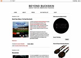 beyondbuckskin.blogspot.com
