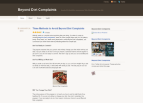 beyonddietcomplaints.wordpress.com