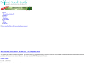 beyondgoodhealth.com
