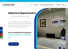 beyondgoodhealthclinics.com.au