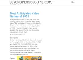 beyondindigoequine.com