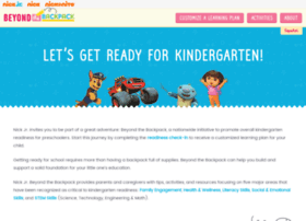 beyondthebackpack.nickjr.com