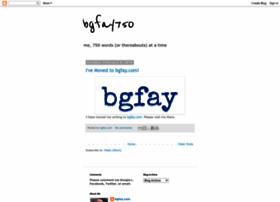 bgfay750.blogspot.com