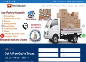 bhagwatipackersmovers.com