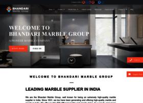 bhandarimarblegroup.com
