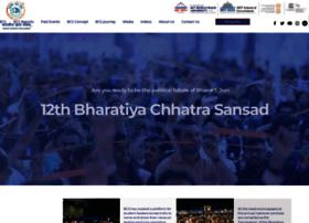 bharatiyachhatrasansad.org