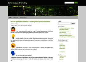 bhargavapandey.com