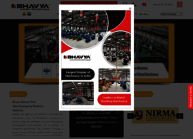 bhavyamachinetools.com