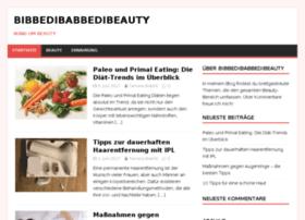 bibbedibabbedibeauty.de