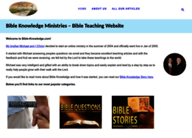 bible-knowledge.com