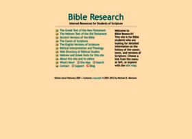 bible-researcher.com