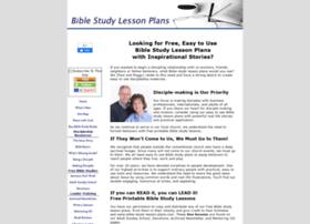 bible-study-lesson-plans.com