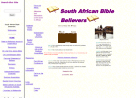 biblebeliever.co.za