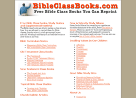 bibleclassbooks.com