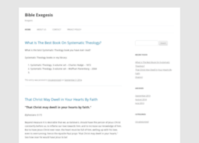 bibleexegesis.com