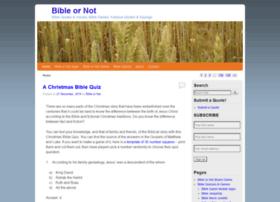 bibleornot.org