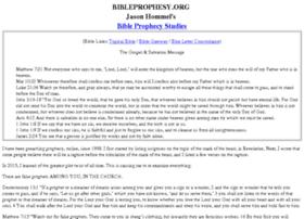 bibleprophesy.org