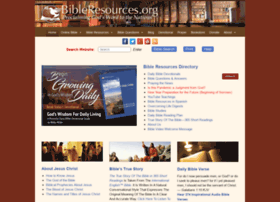 bibleresources.org