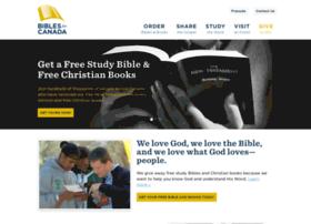 biblesforcanada.org