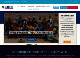 biblesociety-nigeria.org