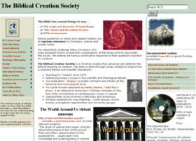 biblicalcreation.org.uk