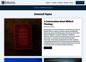 biblicalfoundations.org