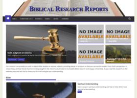 biblicalresearchreports.com