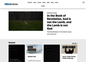 biblicalunitarian.com