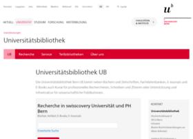 biblio.unibe.ch