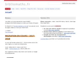 bibliomaths.fr